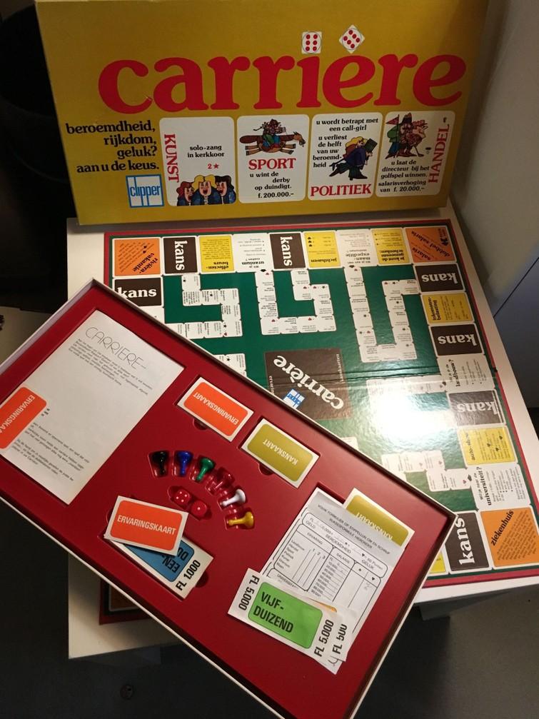 Carrière - het spel
