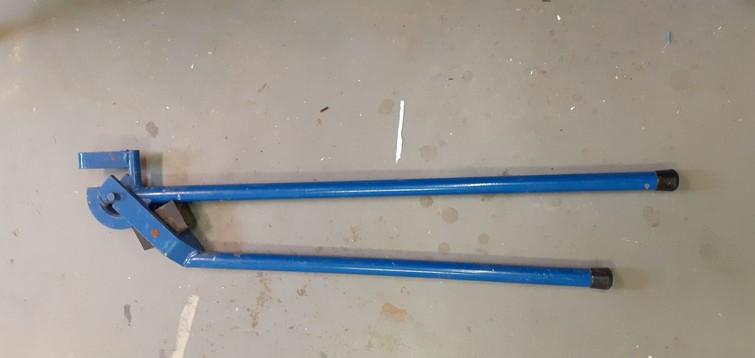 Buigijzer pijpen 22mm