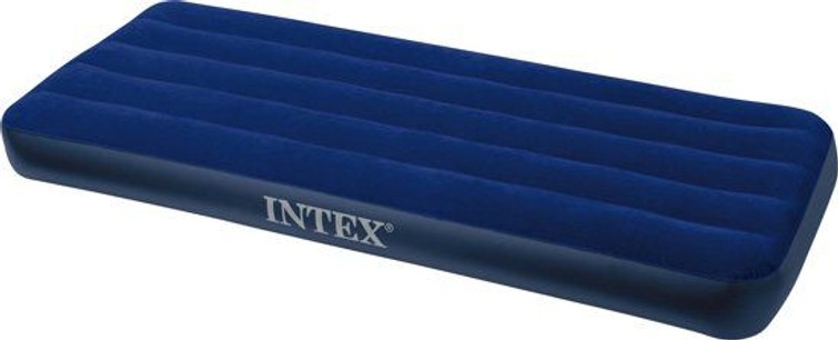 Luchtbed Intex Downy Junior Twin  - 1-Persoons - 191x76x22 cm