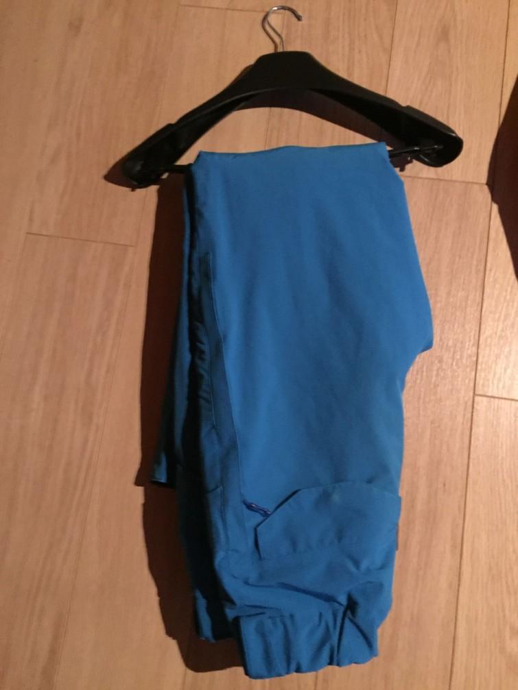 Salomon Heren skibroek blauw