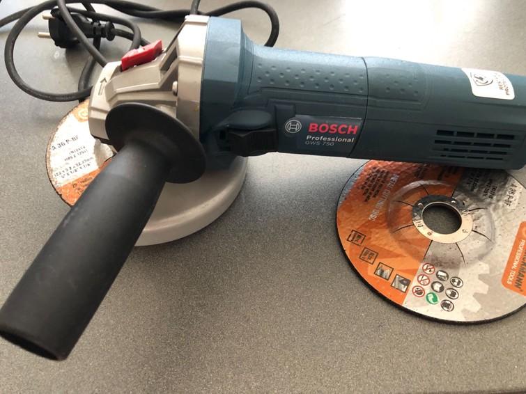 Bosch professional haakseslijper