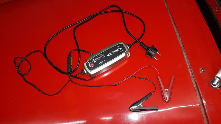 Ctek acculader / druppellader voor auto en motor