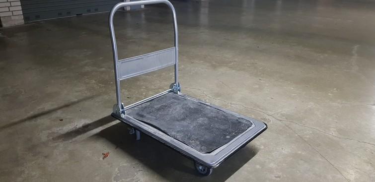 Inklapbare plateauwagen / Transportkar