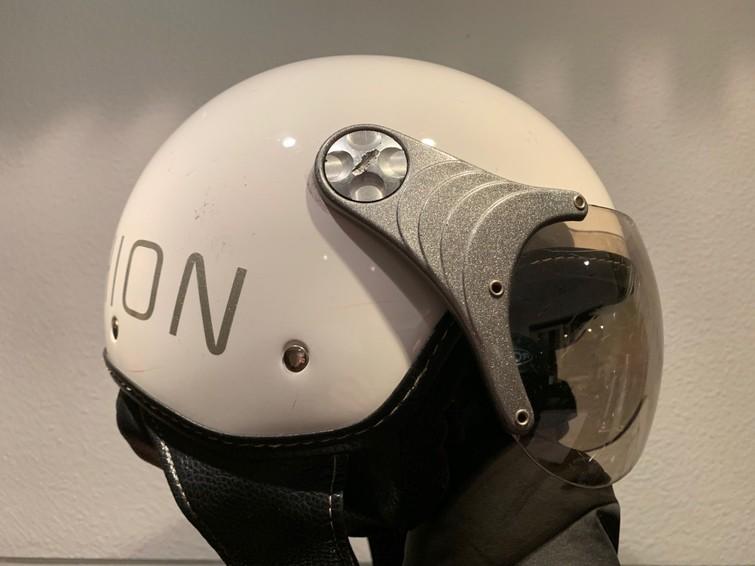 Motorhelm helm brommerhelm scooterhelm