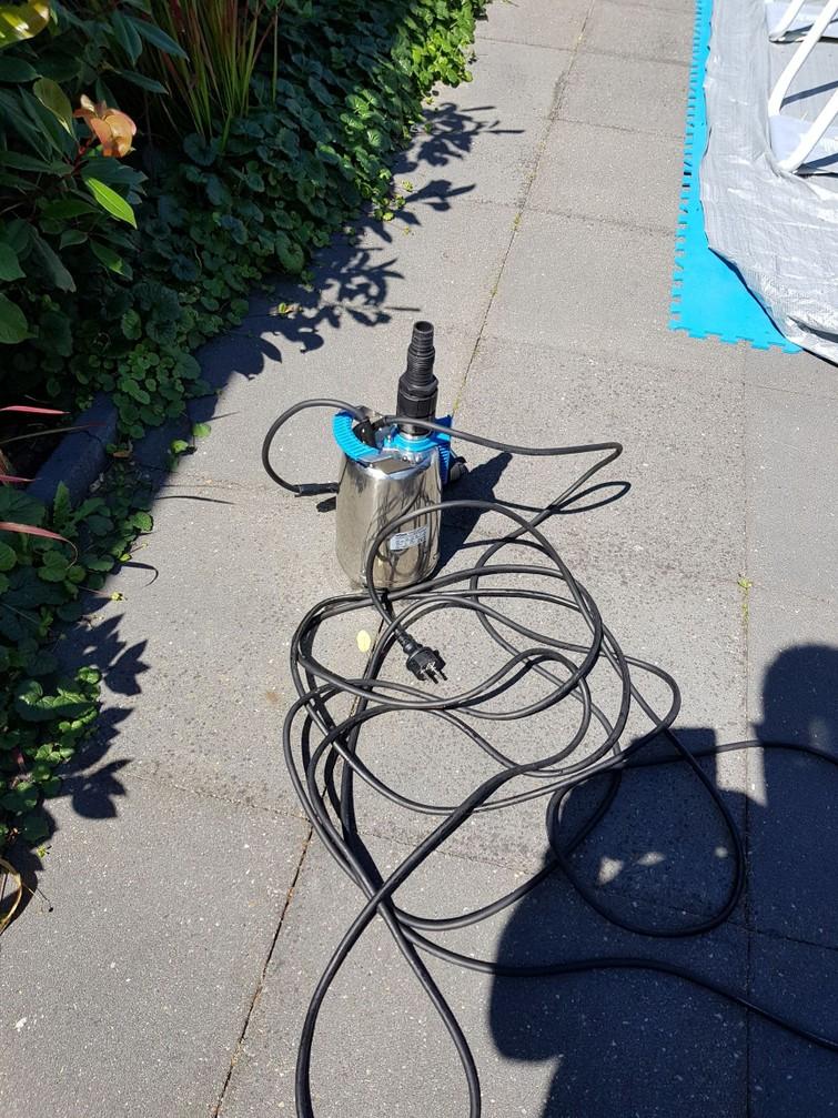 10.000 liter per uur  vuilwater klokpomp