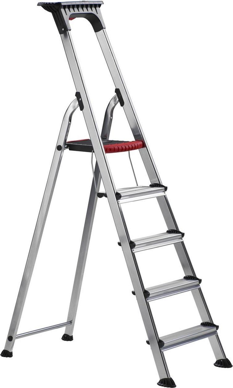 Altrex ladder met 5 treden van