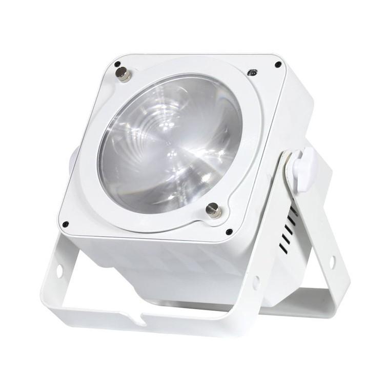 2x kleuren LED spot/uplight 32W + DMX-sturing
