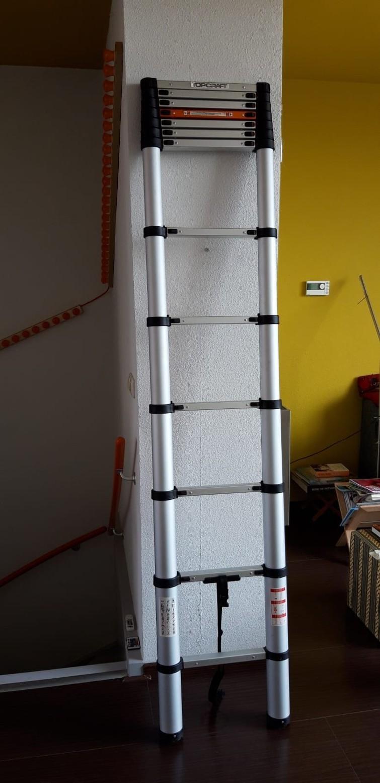 ladder (uitschuifbaar 3 meter, ingeschoven 95cm)