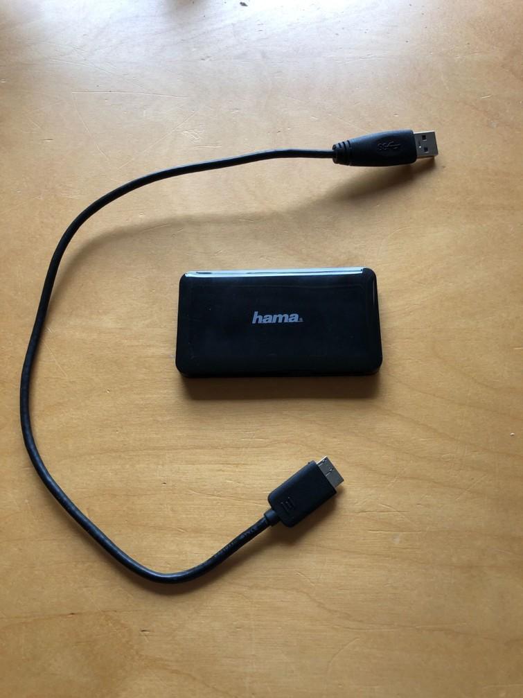 Kaartlezer (SD, MicroSD, MS & CF)