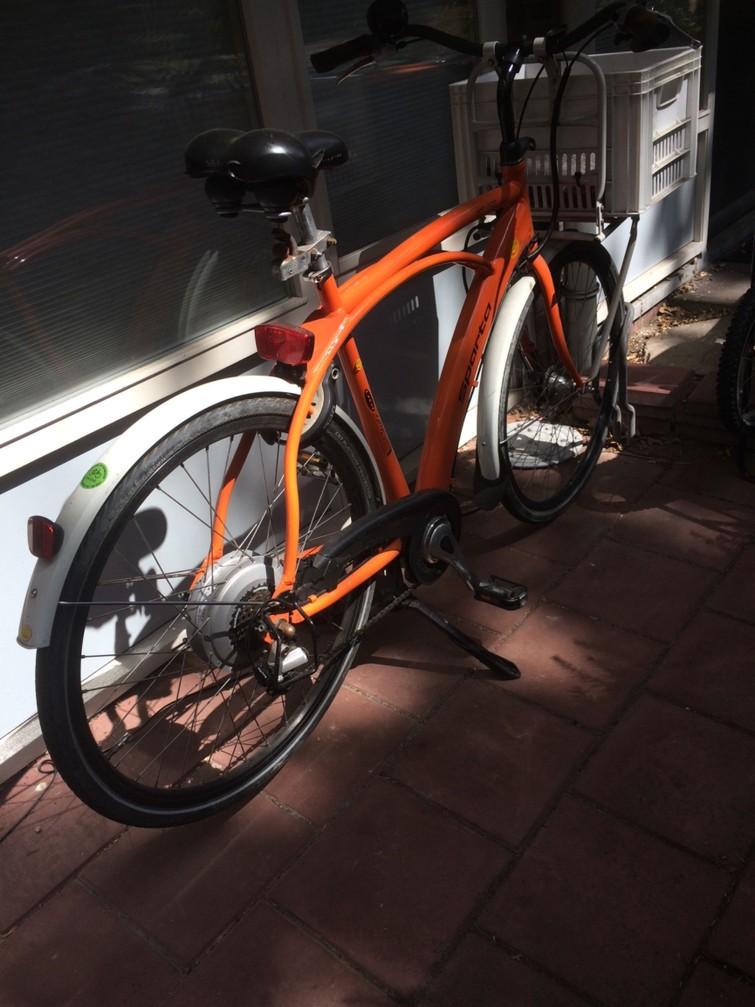 E-bike herenmodel transportfiets