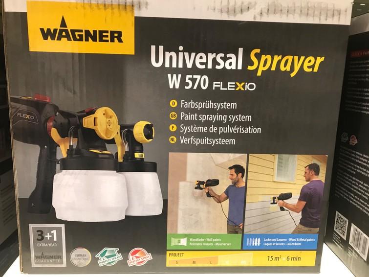 Verfsupitsysteem paint spray system