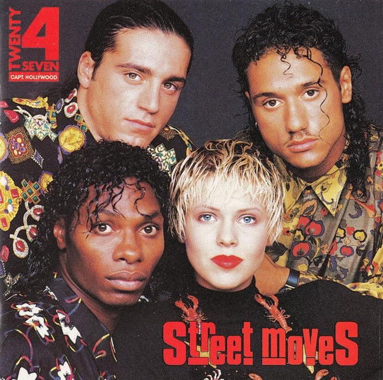 Twenty 4 Seven Feat. Captain Hollywood - Street Moves (Nance Coolen) (Album CD) 22 September 1990. - CD