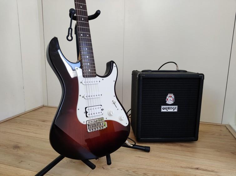 Yamaha Pacifica 012 Guitar | Orange Crush Bass 25 Amp | Elektrische gitaar + Versterker | Alles wat je nodig hebt! |