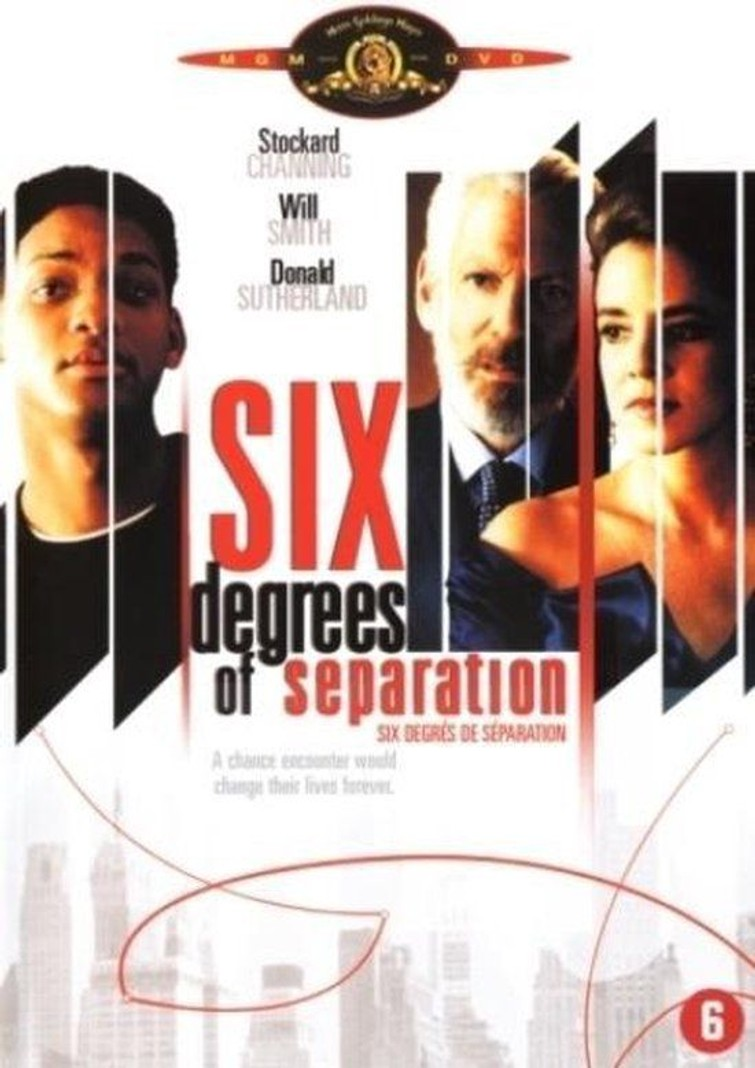 Six Degrees of Separation (Stokard Channing & Will Smith) 8 December 1993. - DVD