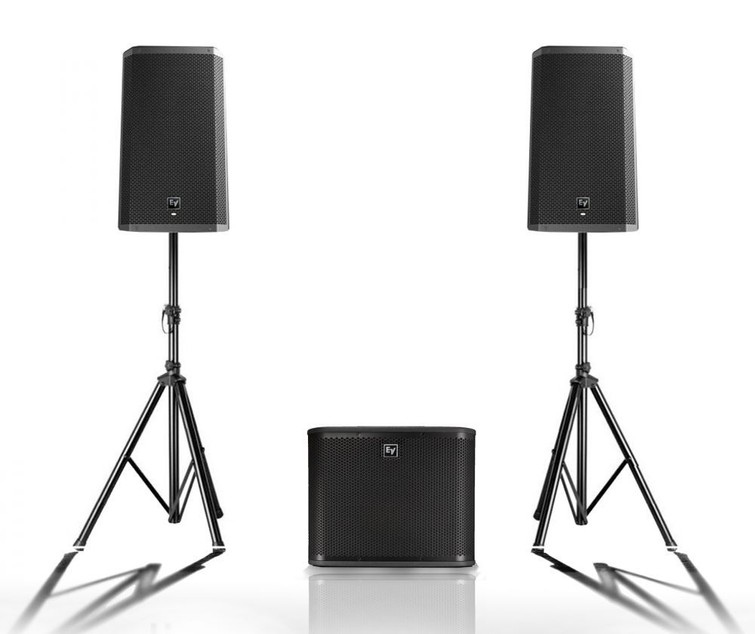 Set luidsprekers met subwoofer
