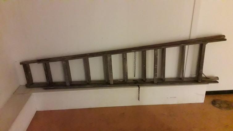 Houten ladder 2 meter