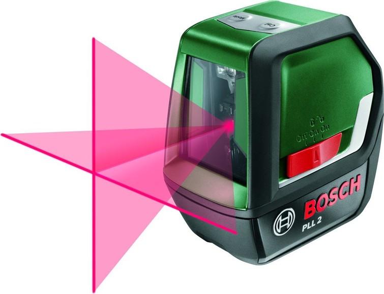 Bosch PLL 2 Kruislijnlaser - Zelfnivellerend - Tot 10 meter bereik
