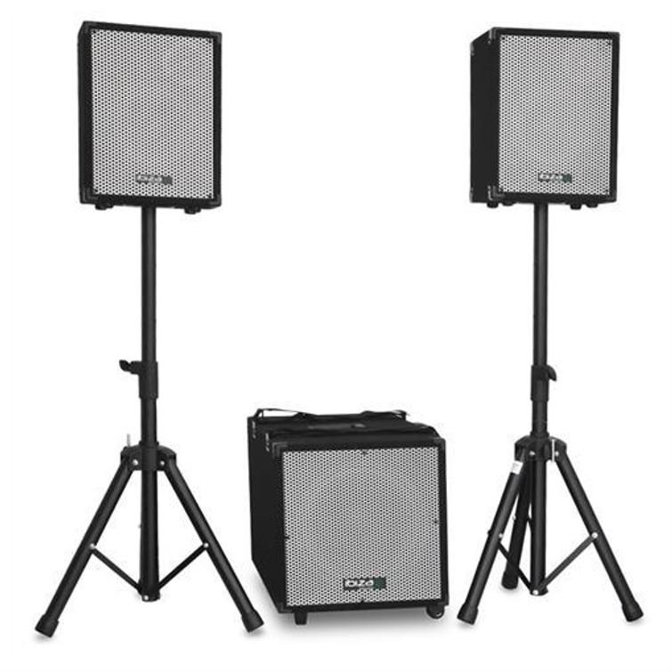 Speakers - geluidsset Ibiza Soundcube - compact