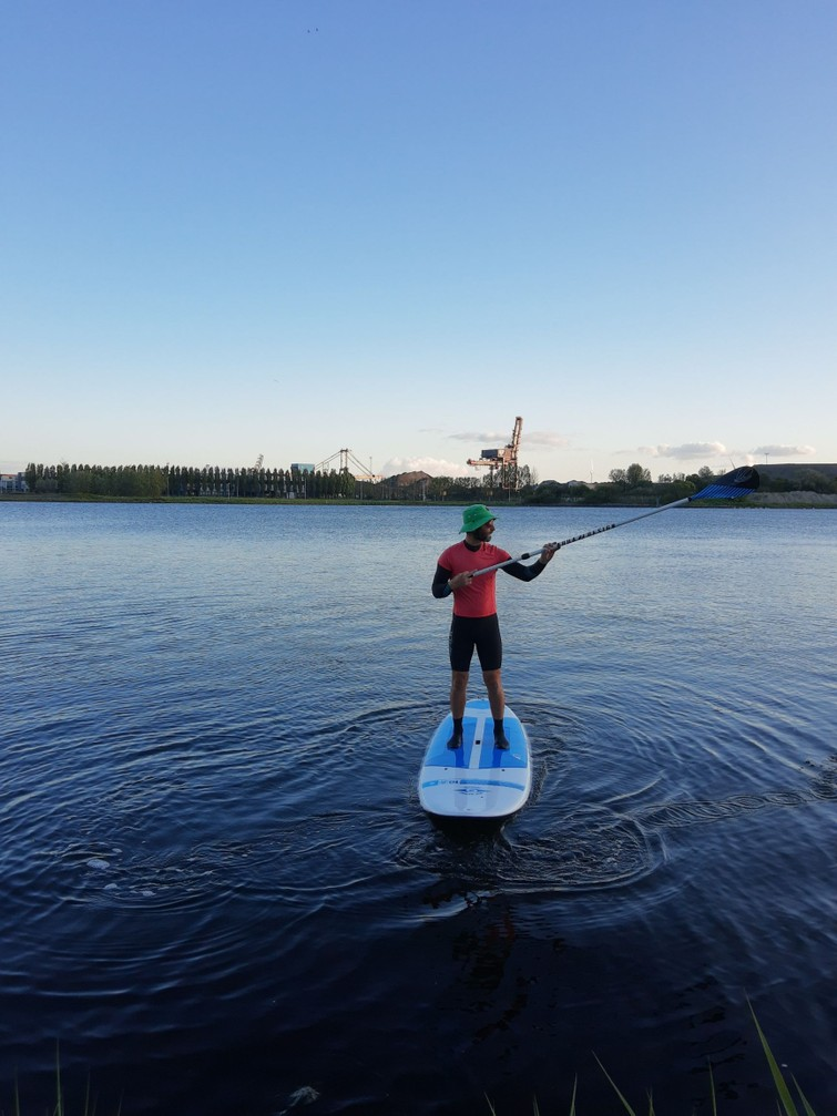 SUP plank + peddel - Bic 10.6 ft Tough Tec
