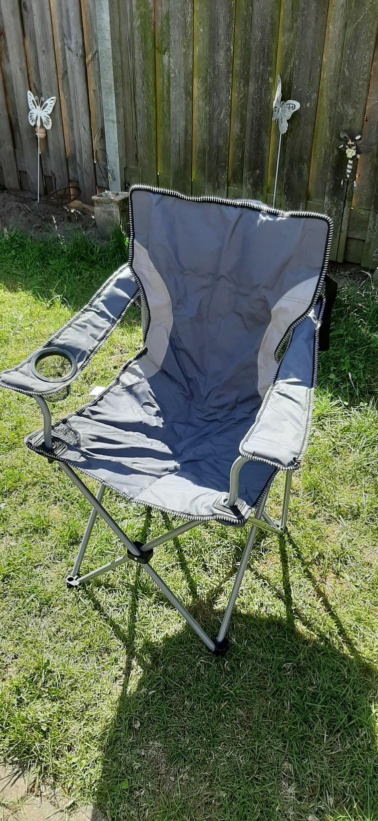 Opvouwbare stoel met hoes