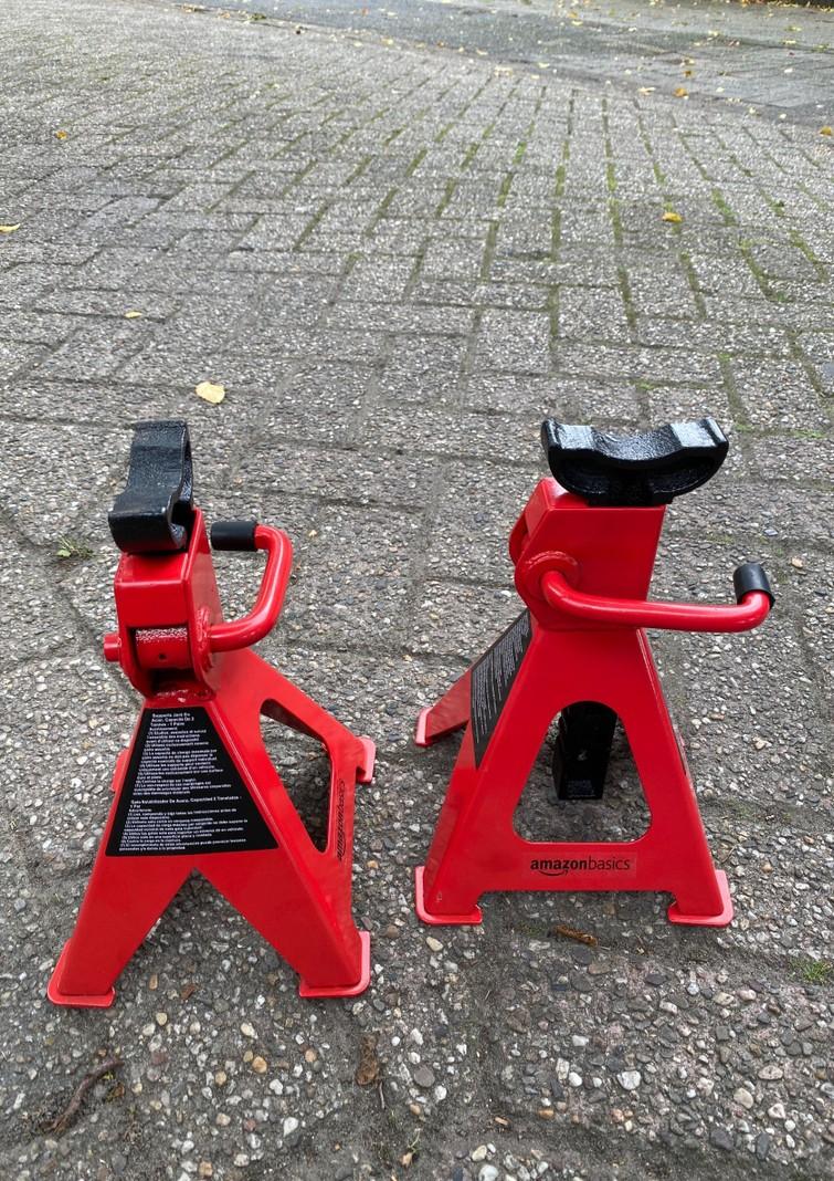 Assteunen , set of 2 , car jacks