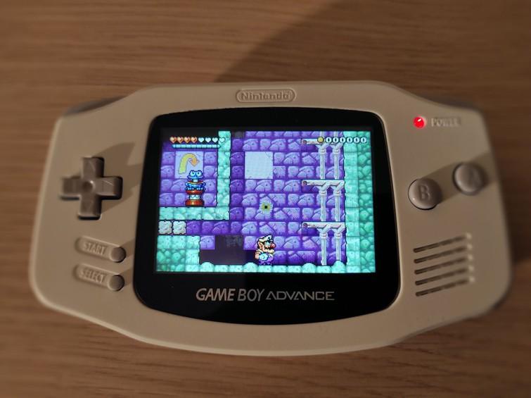 Game Boy Advance (GBA) | Screen Modded | White
