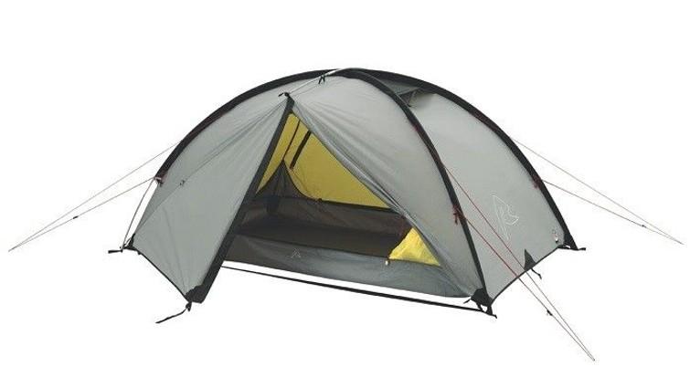 Lichte Tent 2p met 2x ruime 'voortent'