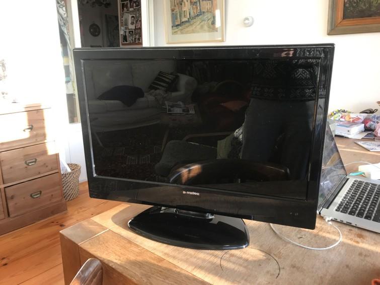 Televisie , diagonaal is 60 cm