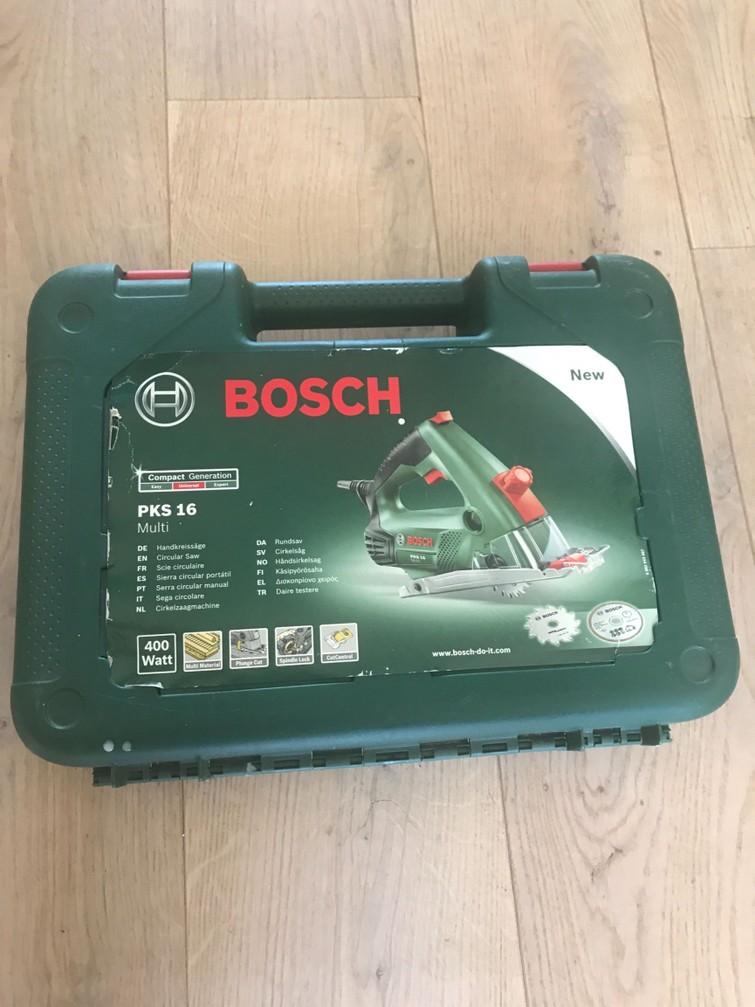 Bosch cirkelzaag klein