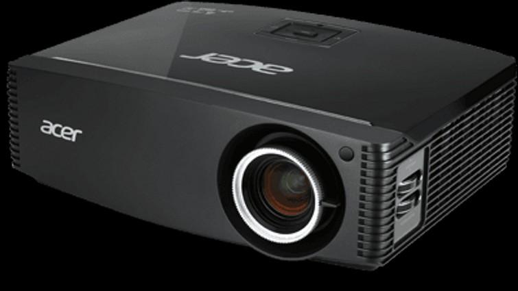 Beamer met HDMI, Netwerk (UTP) en RS232 aansluiting