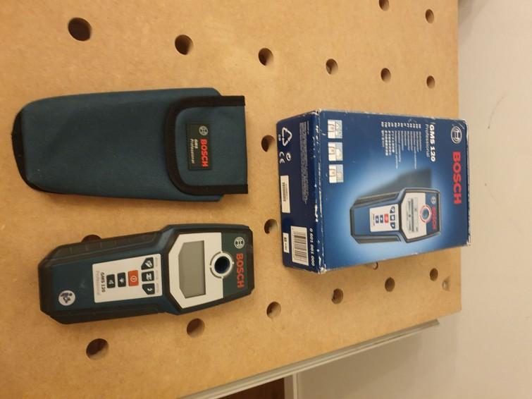 Bosch Professional Detector metaaldetector  regel GMS 120