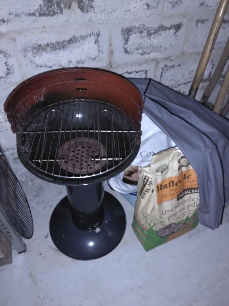 Houtskoolbarbecue 4 personen
