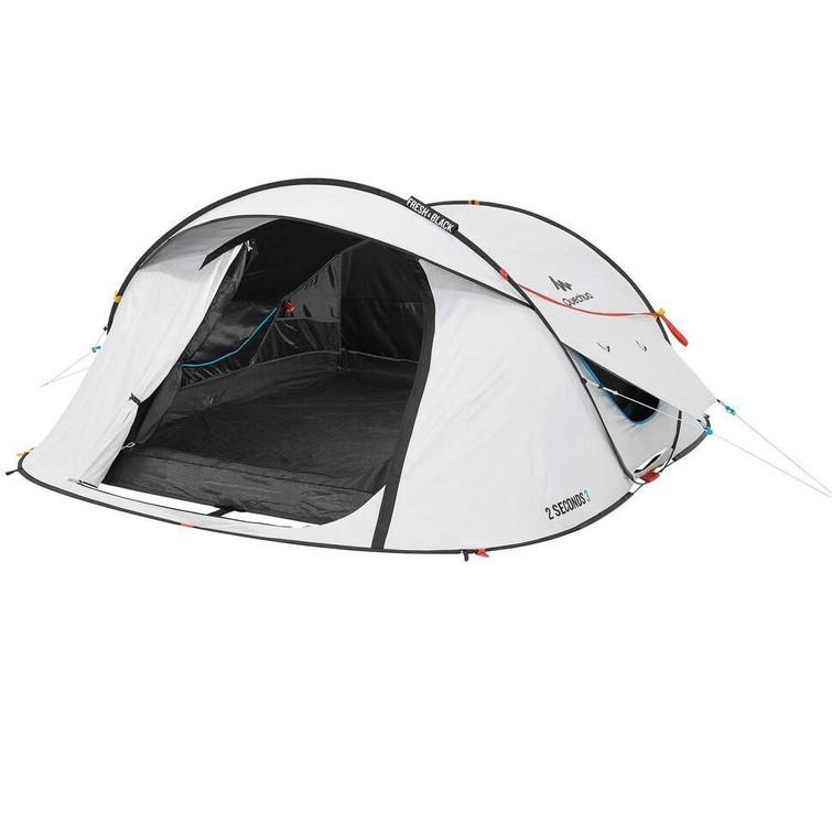 2-3 person popup tent // KAMPEERTENT VOOR 3 PERSONEN 2 SECONDS FRESH&BLACK