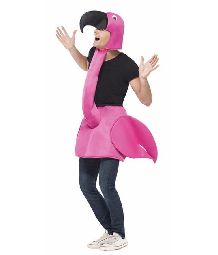 Flamingo costume / Flamingo kostuum
