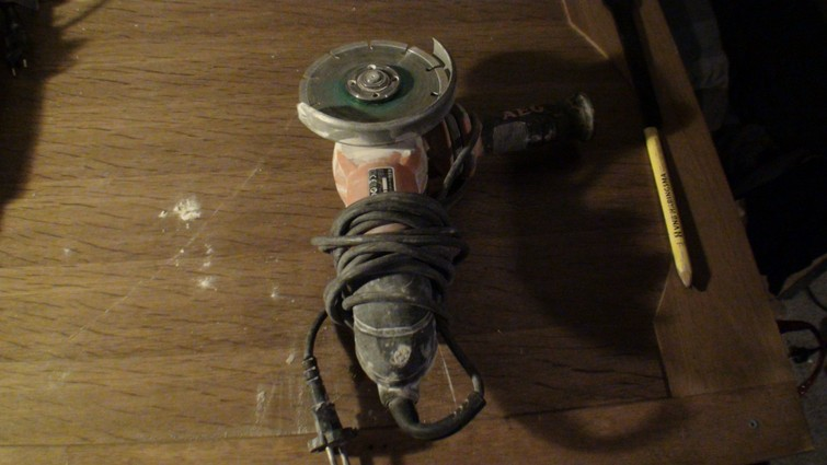 Haakse Slijper / Slijptol 125mm - AEG
