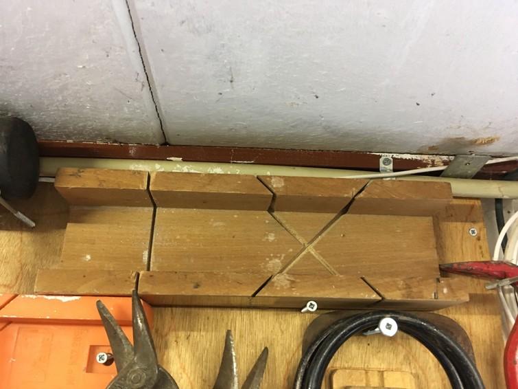 verstekbak hout