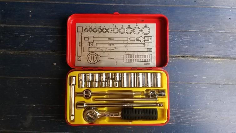 Set  Dopsleutels | Socket wrench
