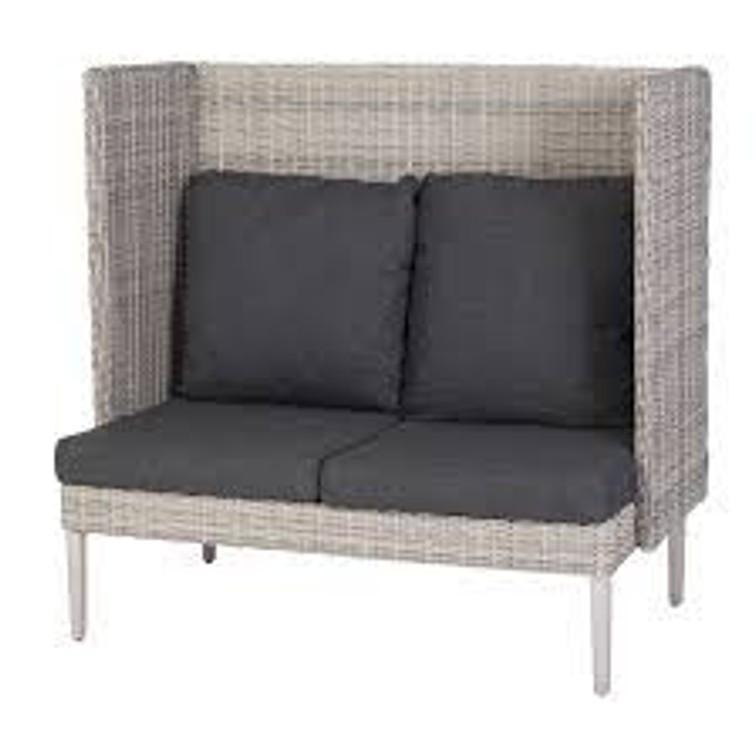Loungebankje/love seat voor tuin of balkon
