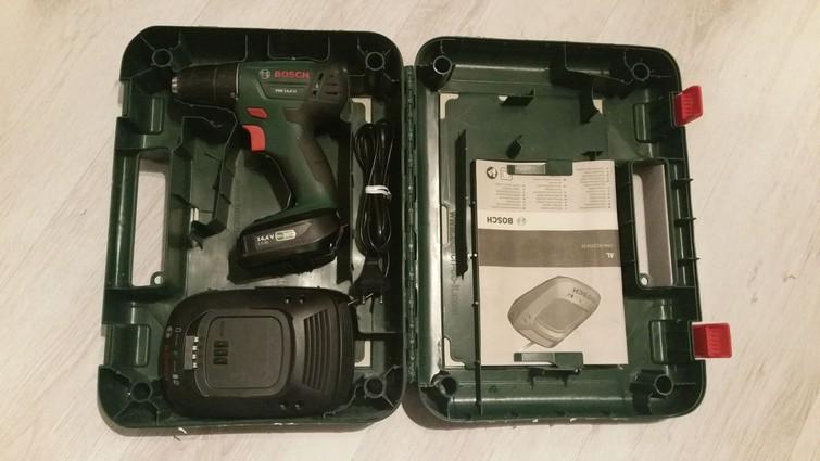 Accuboormachine - Bosch PSR 14,4 LI