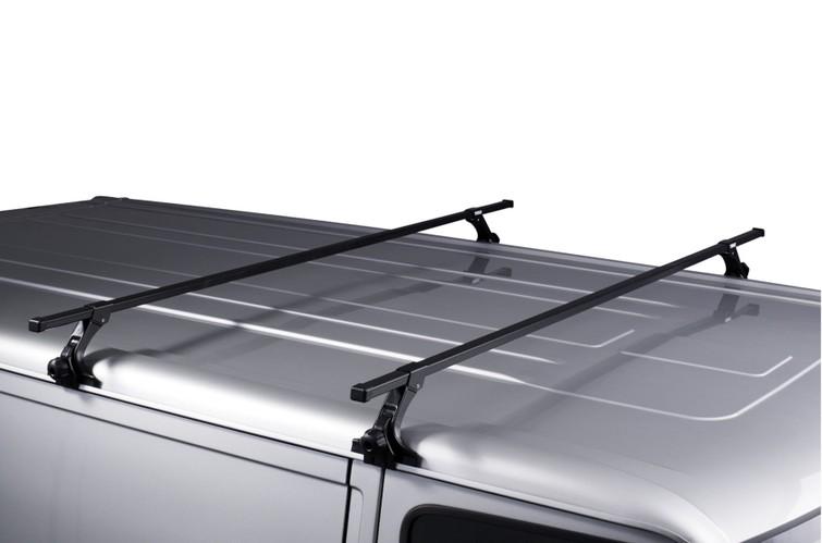 Dakdrager/fietsdrager voor auto met regengoot