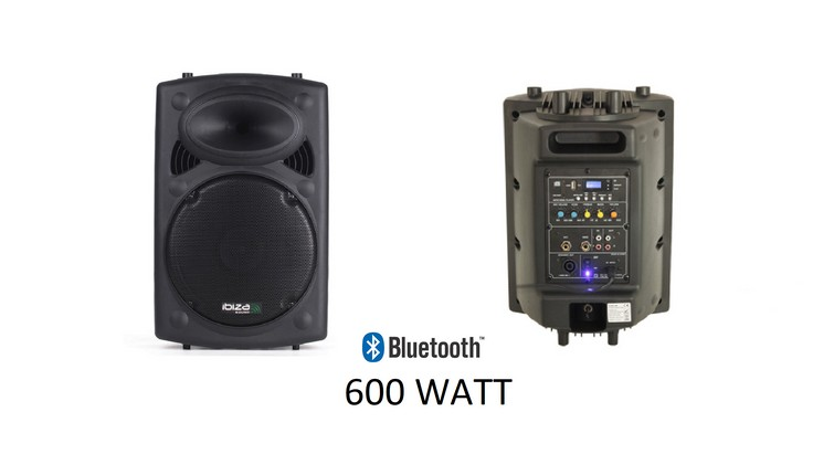 Muziekbox 600 Watt o.a. Bluetooth