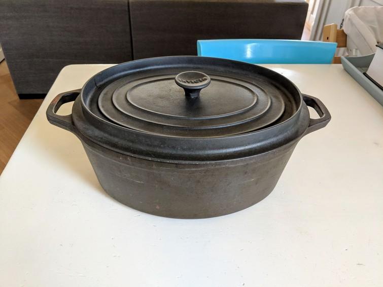 Stoofpan (/grote Invicta braadpan)