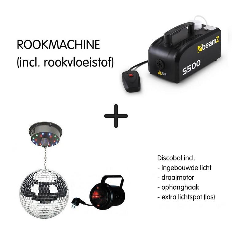 discoset: rookmachine en discobol