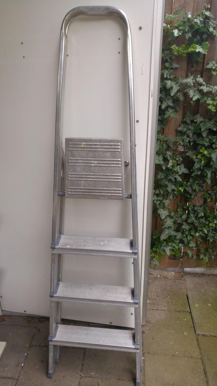 Ladder, licht en gemakkelijk