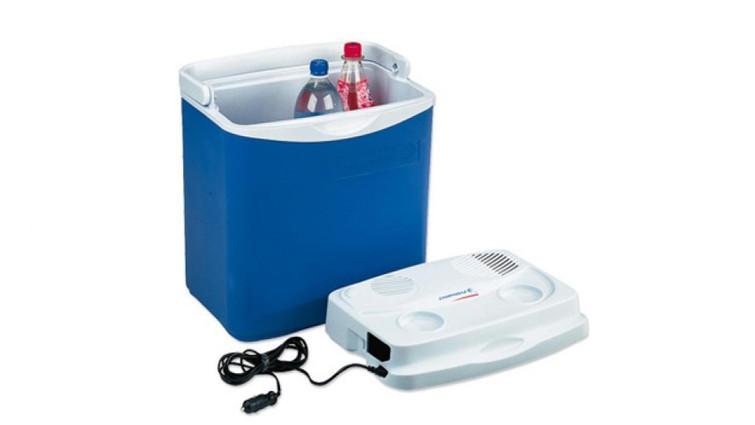 Elektrische koelbox voor 7 x 1.5 liter flessen (12v/230v)