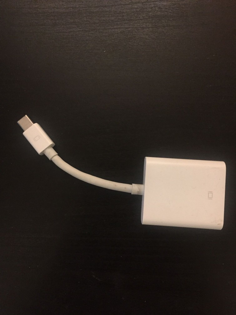 Mini displayport naar VGA adapter voor Apple