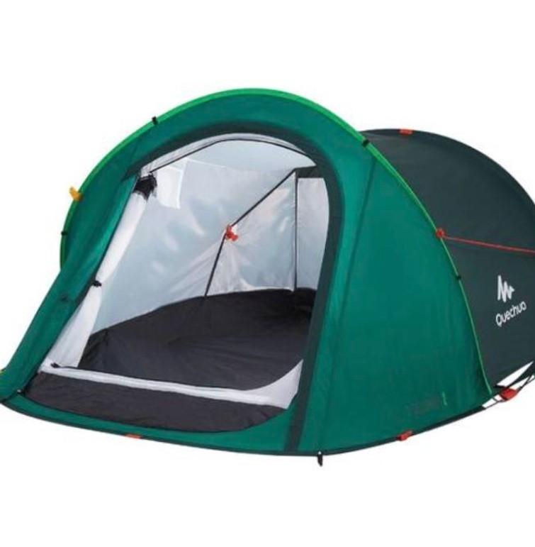 2p pop up tent