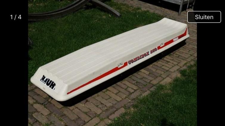 Thule Skibox Combibox