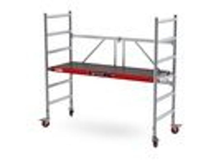 kamersteiger / rolsteiger  -  2 modules werkhoogte tot 4,00