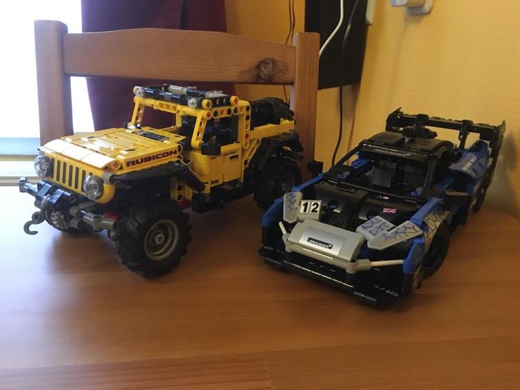 Lego Technic Jeep® Wrangler 42122